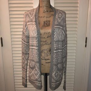 Abercrombie & Fitch Open Front Cardigan